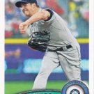 Erik Bedard 2011 Topps #532 Seattle Mariners Baseball Card