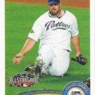 Heath Bell 2011 Topps Update #US60 San Diego Padres Baseball Card
