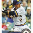 Ryan Braun 2011 Topps #1 Milwaukee Brewers Baseball Card