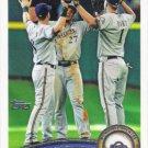 Milwaukee Brewers 2011 Topps #187 Baseball Team Card