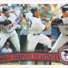 Miguel Cabrera-Alex Rodriguez-Jose Bautista 2011 Topps #306 Baseball Card