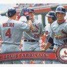 St. Louis Cardinals 2011 Topps #334 Baseball Team Card