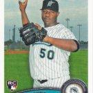Jose Ceda 2011 Topps Rookie #196 Florida Marlins Baseball Card