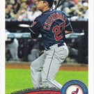 Lonnie Chisenhall 2011 Topps Update Rookie Debut #US193 Cleveland Indians Baseball Card