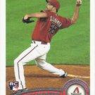 Josh Collmenter 2011 Topps Update Rookie #US103 Arizona Diamondbacks Baseball Card