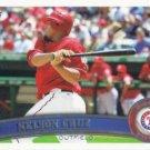 Nelson Cruz 2011 Topps #236 Texas Rangers Baseball Card