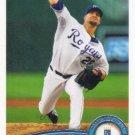 Kyle Davies 2011 Topps #259 Kansas City Royals Baseball Card