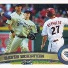 David Eckstein 2011 Topps #51 San Diego Padres Baseball Card