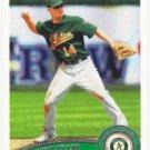 Mark Ellis 2011 Topps #17 Oakland Athletics Baseball Card
