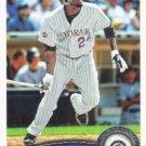 Dexter Fowler 2011 Topps #613 Colorado Rockies Baseball Card