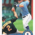 Chris Getz 2011 Topps #654 Kansas City Royals Baseball Card