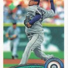 Felix Hernandez 2011 Topps #530 Seattle Mariners Baseball Card