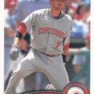 Paul Janish 2011 Topps #358 Cincinnati Reds Baseball Card