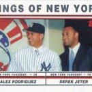 Derek Jeter-Alex Rodriguez 2011 Topps '60 Years of Collecting' #112 New York Yankees Baseball Card