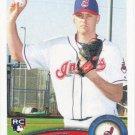 Josh Judy 2011 Topps Update Rookie #US36 Cleveland Indians Baseball Card