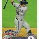 Paul Konerko 2011 Topps Update #US309 Chicago White Sox Baseball Card