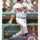 Jason Kubel 2011 Topps #4 Minnesota Twins Baseball Card