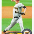 Evan Meek 2011 Topps #125 Pittsburgh Pirates Baseball Card
