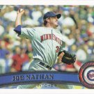 Joe Nathan 2011 Topps #366 Minnesota Twins Baseball Card