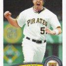 Steve Pearce 2011 Topps Update #US226 Pittsburgh Pirates Baseball Card