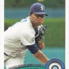 Michael Pineda 2011 Topps Update #US179 Seattle Mariners Baseball Card