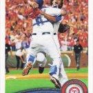 Texas Rangers 2011 Topps #543 Baseball Team Card