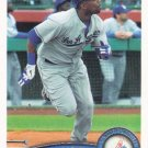 Marcus Thames 2011 Topps #551 Los Angeles Dodgers Baseball Card
