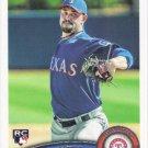 Mason Tobin 2011 Topps Rookie #343 Texas Rangers Baseball Card