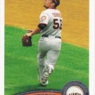 Andres Torres 2011 Topps #194 San Francisco Giants Baseball Card