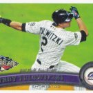 Troy Tulowitzki 2011 Topps Update #US162 Colorado Rockies Baseball Card