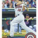 Danny Valencia 2011 Topps #387 Minnesota Twins Baseball Card