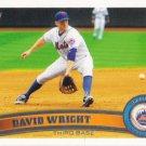 David Wright 2011 Topps #15 New York Mets Baseball Card