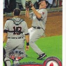 Kevin Youkilis 2011 Topps Update #US144 Boston Red Sox Baseball Card