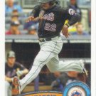 Willie Harris 2011 Topps #US265 New York Mets Baseball Card