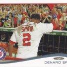 Denard Span 2014 Topps #651 Washington Nationals Baseball Card