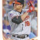 Chris Davis 2013 Topps Update #US163 Baltimore Orioles Baseball Card