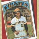 Roberto Clemente 1987 Topps #313 Pittsburgh Pirates Baseball Card