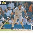 Don Mattingly 1994 Upper Deck Collector's Choice #192 New York Yankees Baseball Card