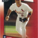 Albert Pujols 2002 Donruss Fan Club #40 St. Louis Cardinals Baseball Card