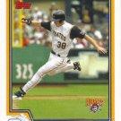 Jason Bay 2004 Topps #411 Pittsburgh Pirates Baseball Card