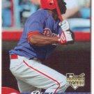 Michael Bourn 2007 Fleer Rookie #353 Philadelphia Phillies Baseball Card