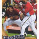 Ryan Braun-Prince Fielder 2010 Topps #237 Milwaukee Brewers Baseball Card