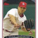 Chris Carpenter 2006 Topps #261 St. Louis Cardinals Baseball Card