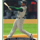 Carl Crawford 2006 Topps #5 Tampa Bay Devil Rays Baseball Card