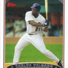 Carlos Delgado 2006 Topps #125 New York Mets Baseball Card
