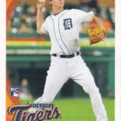 Brent Dlugach 2010 Topps Rookie #293 Detroit Tigers Baseball Card