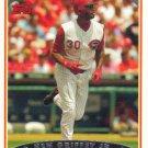 Ken Griffey Jr. 2006 Topps #387 Cincinnati Reds Baseball Card