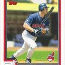 Travis Hafner 2004 Topps #545 Cleveland Indians Baseball Card