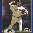 Livan Hernandez 2003 Topps #392 San Francisco Giants Baseball Card
