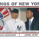 Derek Jeter-Alex Rodriguez 2004 Topps #693 New York Yankees Baseball Card
